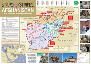 Compact Afghanistan Map - Stars map from us