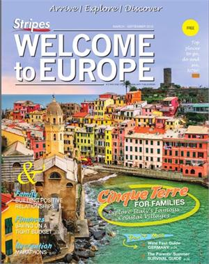 2016 Welcome to Europe guide