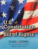 Stars and Stripes Constitution & Bill of Rights