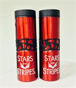 Stars and Stripes traveling mug
