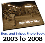 Stars and Stripes: Serving in Iraq photo book